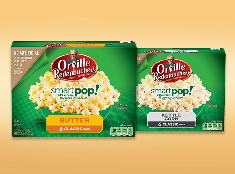 Natural Popcorn: The Most Satisfying Natural Snack | Orville