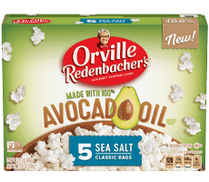 Avocado Oil Popcorn