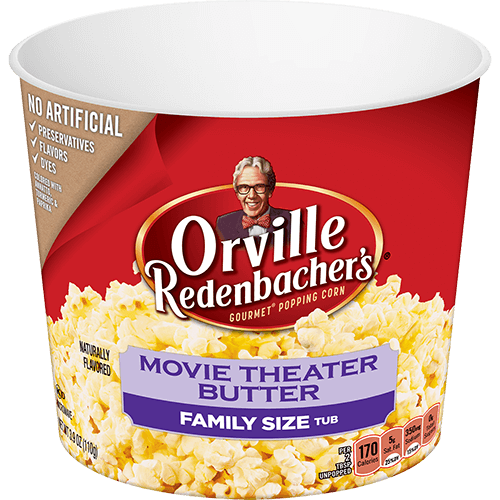 Movie Theater Butter Tub Orville Redenbacher S