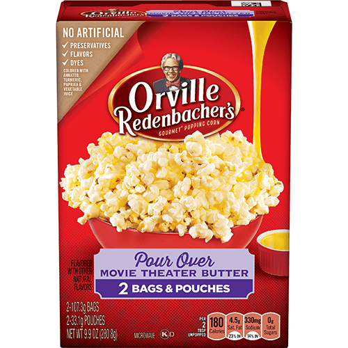 Pour Over Movie Theater Butter Orville Redenbacher S